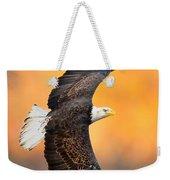 Autumn Eagle Weekender Tote Bag