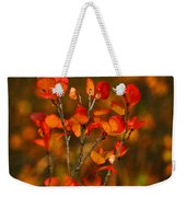 Autumn Emblem Weekender Tote Bag