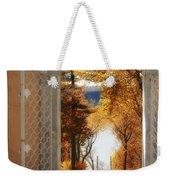 Autumn Entrance Weekender Tote Bag