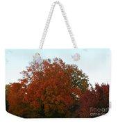 Autumn Eve Weekender Tote Bag