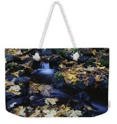 Autumn Fall Colors Starvation Creek State Park Weekender Tote Bag