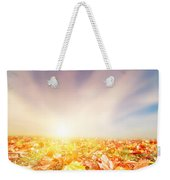 Autumn Fall Landscape Weekender Tote Bag