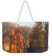 Autumn Farm With Harrow Weekender Tote Bag
