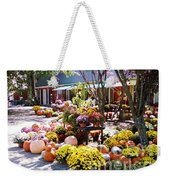 Autumn Farmers Market By Karen E. Francis Weekender Tote Bag