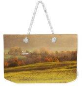 Autumn Fields Weekender Tote Bag