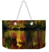 Autumn Fire Weekender Tote Bag