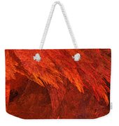 Autumn Fire Pano 2 Vertical Weekender Tote Bag