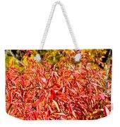 Autumn Flames Weekender Tote Bag