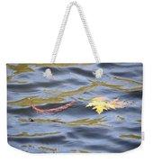 Autumn Floats Away Weekender Tote Bag