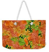 Autumn Floor Weekender Tote Bag