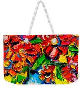 Autumn Flowers 7 Weekender Tote Bag
