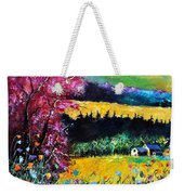 Autumn Flowers Weekender Tote Bag
