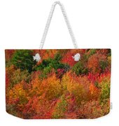Autumn Forest Weekender Tote Bag