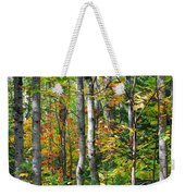 Autumn Forest Detail Weekender Tote Bag