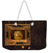 Autumn Frame Weekender Tote Bag by Amanda Elwell