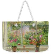 Autumn Fruit And Flowers Weekender Tote Bag