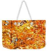 Autumn Fury Weekender Tote Bag