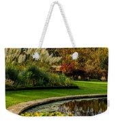 Autumn Garden Weekender Tote Bag