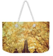 Autumn Gates Weekender Tote Bag