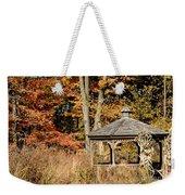 Autumn Gazebo Weekender Tote Bag