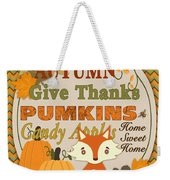 Autumn Gifts-a Weekender Tote Bag