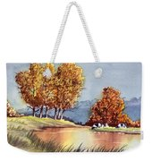 Autumn Golds Weekender Tote Bag