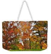 Autumn Golf Weekender Tote Bag