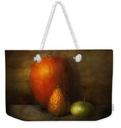 Autumn - Gourd - Melon Family  Weekender Tote Bag by Mike Savad