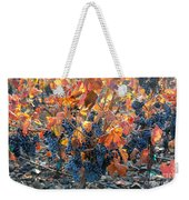 Autumn Grapes Weekender Tote Bag