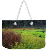Autumn Grass Weekender Tote Bag