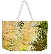 Autumn Grass Weekender Tote Bag