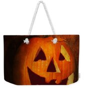 Autumn - Halloween - Jack-o-lantern  Weekender Tote Bag by Mike Savad