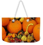 Autumn Harvest 5 Weekender Tote Bag