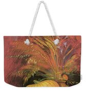Autumn Harvest Weekender Tote Bag by Claire Spencer