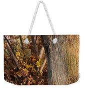 Autumn Hideaway Weekender Tote Bag