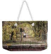 Autumn Hike On The C And O Canal Towpath At Seneca Creek Weekender Tote Bag