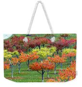 Autumn Hillside Orchard Weekender Tote Bag