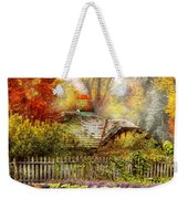 Autumn - House - On The Way To Grandma's House Weekender Tote Bag