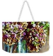 Autumn Hydrangeas Photoart Weekender Tote Bag