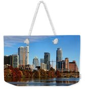 Autumn In Austin Weekender Tote Bag