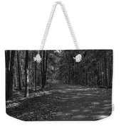 Autumn In Black And White Weekender Tote Bag