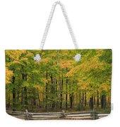 Autumn In Door County Weekender Tote Bag