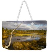 Autumn In Finland Near Inari Weekender Tote Bag