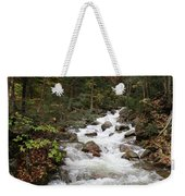 Franconia Notch In Autumn  Weekender Tote Bag