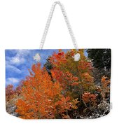 Autumn In Idaho Weekender Tote Bag