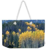 1m9359-autumn In Jackson Hole Ranch Country Weekender Tote Bag