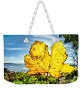 Autumn In Lyme Regis Weekender Tote Bag
