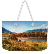 Autumn In Montana Weekender Tote Bag