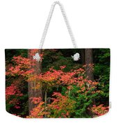 Autumn In Mount Rainier Forest Weekender Tote Bag