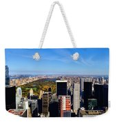 Autumn In New York City Weekender Tote Bag